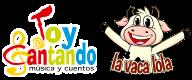 Logo de Toy Cantando y la Vaca Lola